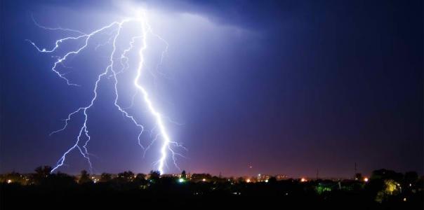Enorme Schäden verursacht durch Blitzschlag & Induktion