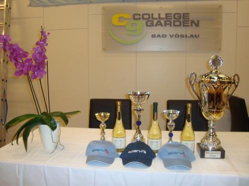 College Garden - Austragungsort der 6. Blitzgneisser Trophy